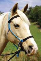 Lightrider Rope Natural Bridle at Equigear